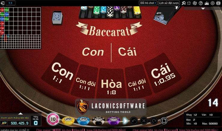 Phần mềm đánh bài Baccarat trực tuyến tốt nhất cần biết