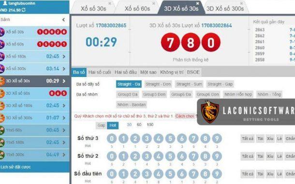 Phần mềm Lotto online hay được dân cược sử dụng gọi số Loto