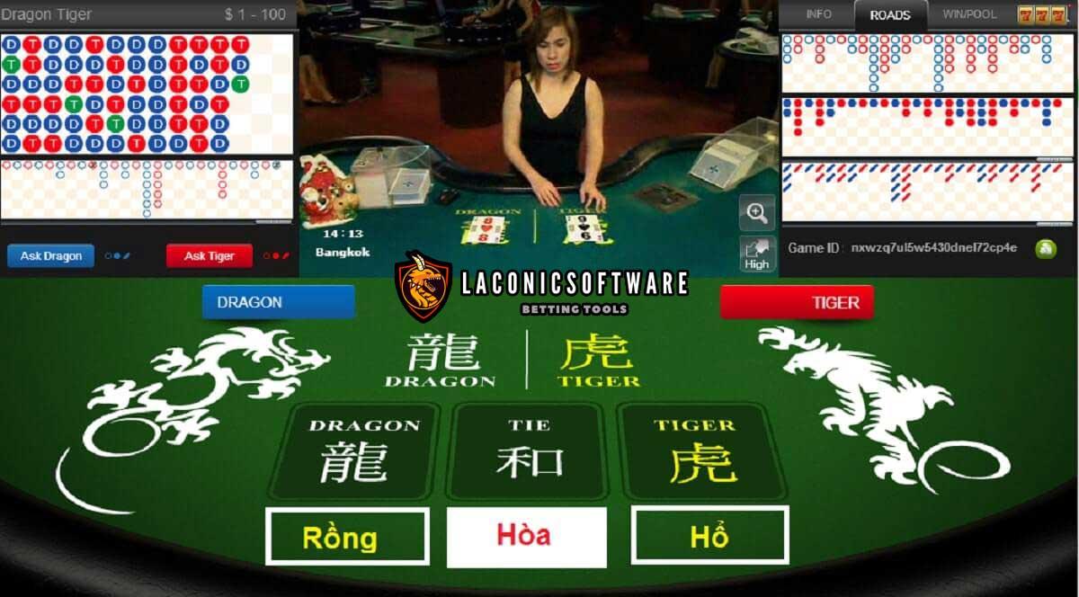 Luật chơi Rồng Hổ online