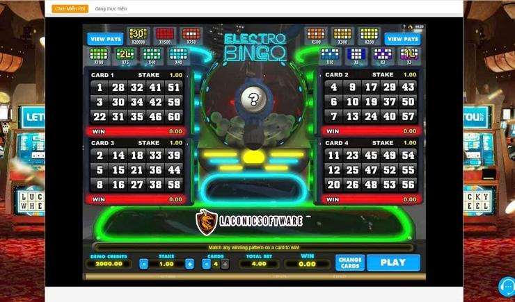 Hướng dẫn cách chơi Bingo
