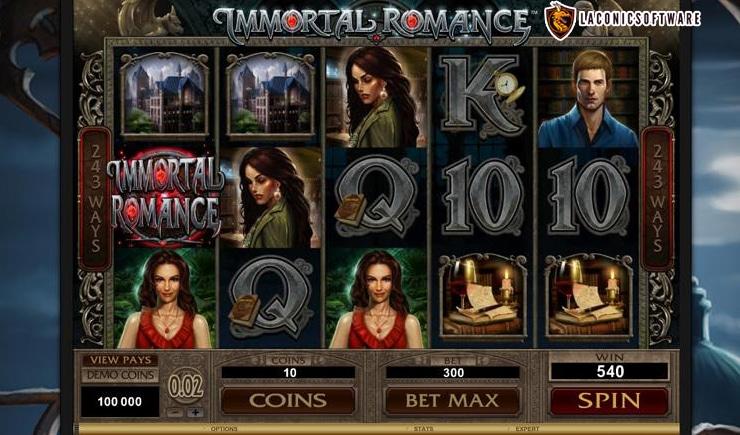 Hướng dẫn cách chơi Immortal Romance