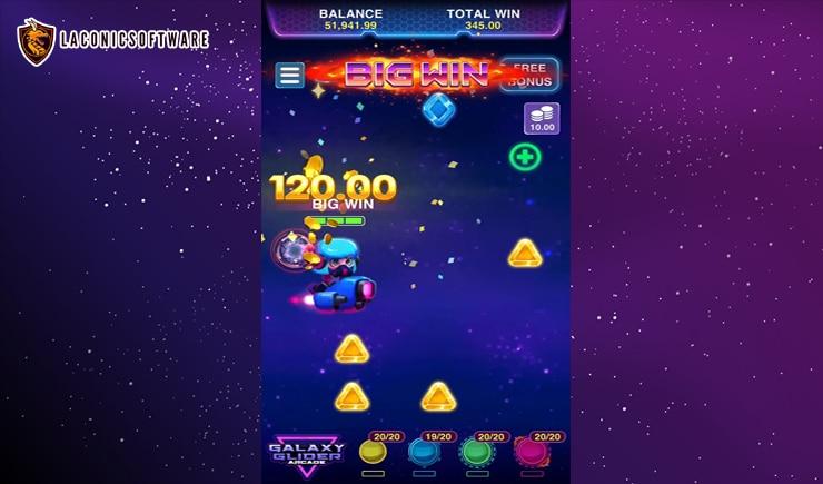 Hướng dẫn cách chơi Galaxy Glider