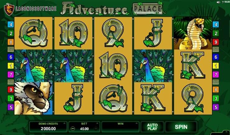 Hướng dẫn cách chơi Adventure Palace
