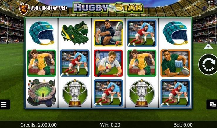 Hướng dẫn cách chơi Rugby Star