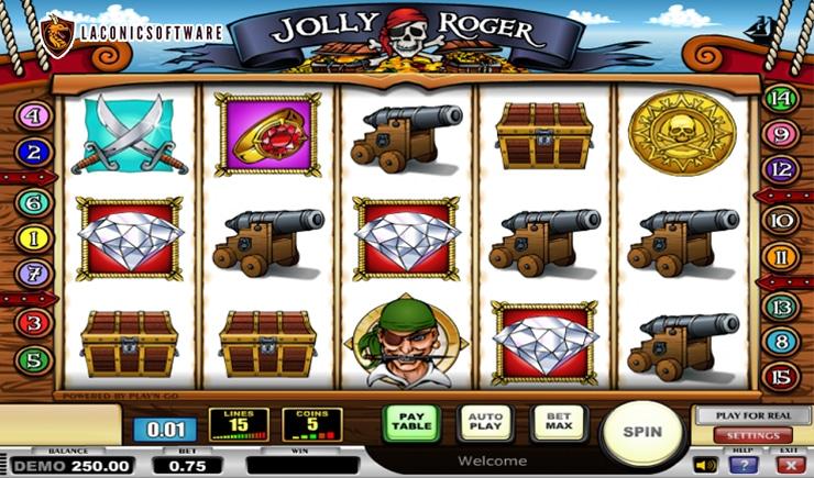 Hướng dẫn cách chơi Jolly Roger Slot