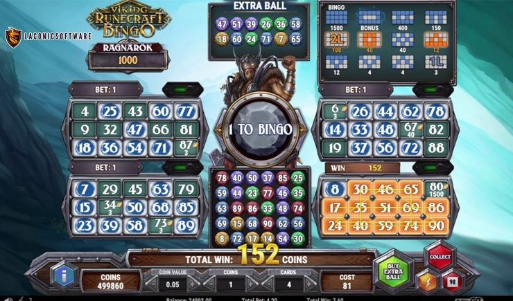 Hướng dẫn cách chơi Viking Runecraft Bingo