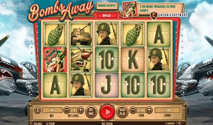 Hướng dẫn cách chơi Bombs Away Slot