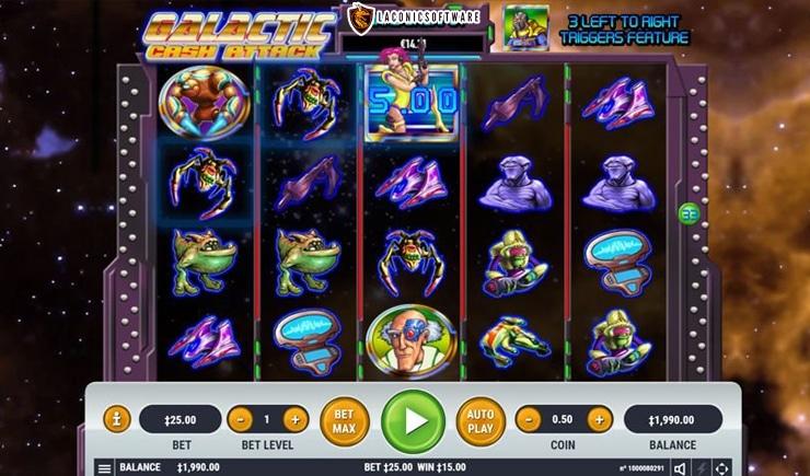 Hướng dẫn cách chơi Galactic Cash Attack