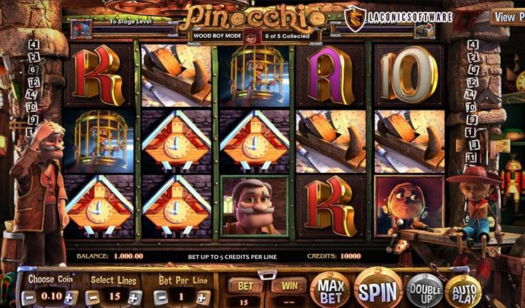 Hướng dấn cách chơi Pinocchio Slot