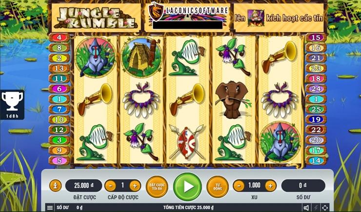 Hướng dẫn cách chơi Jungle Rumble