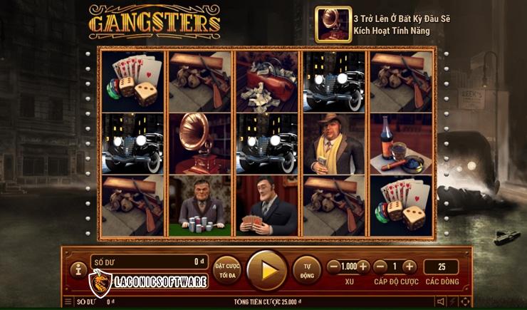Hướng dẫn cách chơi Gangster Slot
