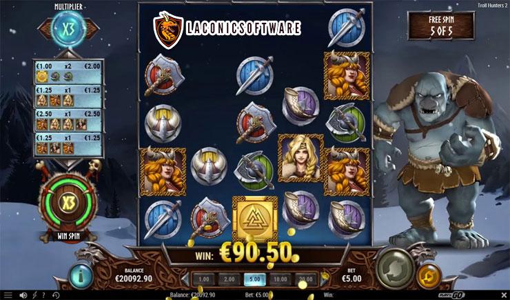 Cách chơi Troll Hunters Slot
