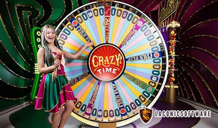 Cách chơi vòng quay Crazy Time