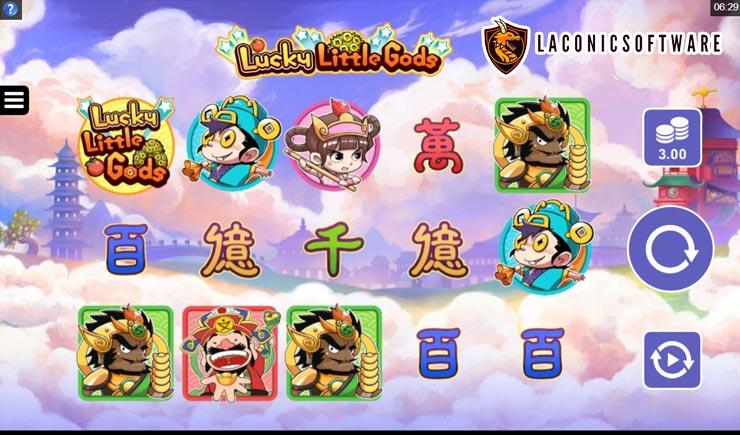 Hướng dẫn cách chơi Lucky Little Gods Slot