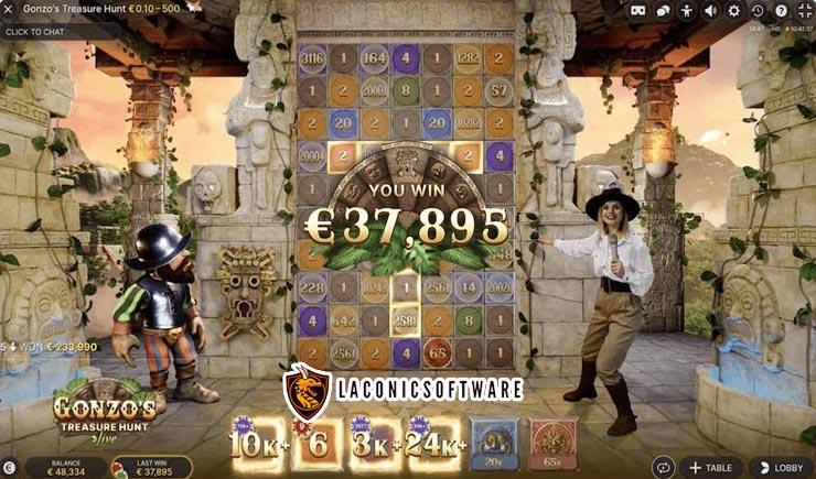 Cách chơi Gonzo's Treasure Hunt Live tại nhà cái